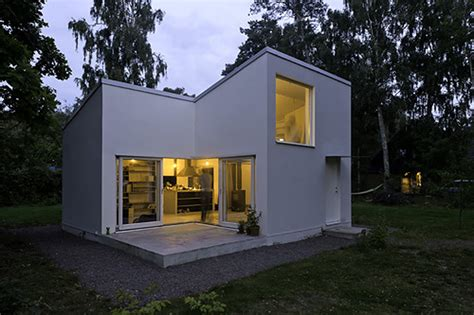 swedish home house unique modern in a small lot homes with style