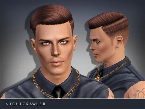 sims 4 male hairstyles nightcrawler sims nightcrawler am hair07