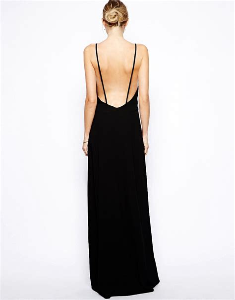 Maxi Wilmena image 2 of solace wilma maxi dress with low back