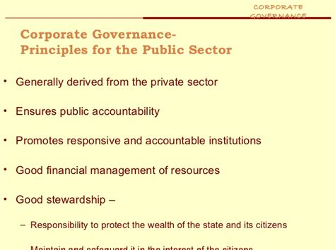Corporate Governance Ppt For Mba by Corporate Governance Ppt Mba