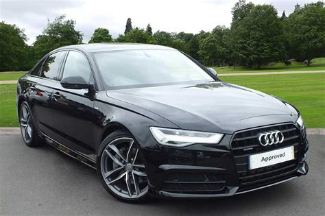 Audi A6 Ps by Used 2017 Audi A6 Saloon Black Edition 3 0 Tdi Quattro 272