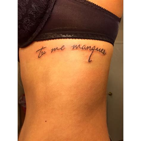 memorial tattoo for dad quot you are missing from me quot remembrance for my