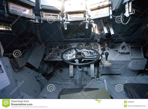 Time Tracker Thunt vehicle inside view stock images image 5599394