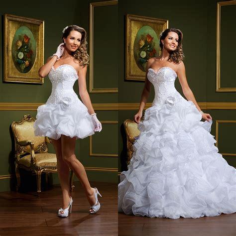 mini skirt wedding dresses elegant sweetheart lace two piece wedding dresses 2015