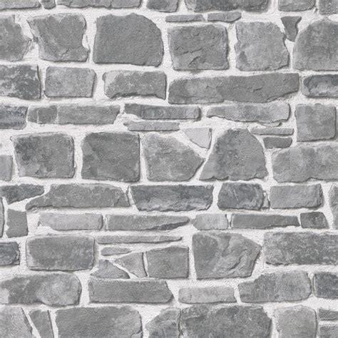 grey effect wallpaper rasch stone wall wallpaper 265620