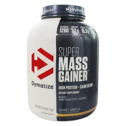 Suplemen Dymatize Mass Gainer Buy Dymatize Nutrition Mass Gainer Gourmet Vanilla