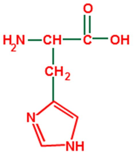 structural formula chemistrytutorvistacom histidine