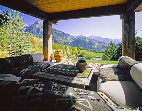 Ranch Style Home Interior Design Ad Visits Robert Redford S Sundance Utah Compound