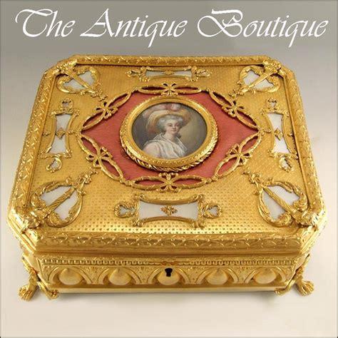 Cincin For Small Adorn Enamel Jewelry antique miniature portrait guilloche enamel gilt from theantiqueboutique on
