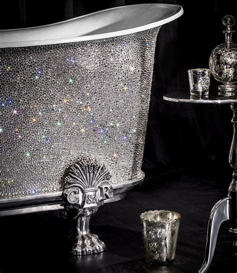 crystal bathtub more money than sense 163 150 000 bathtub studded with