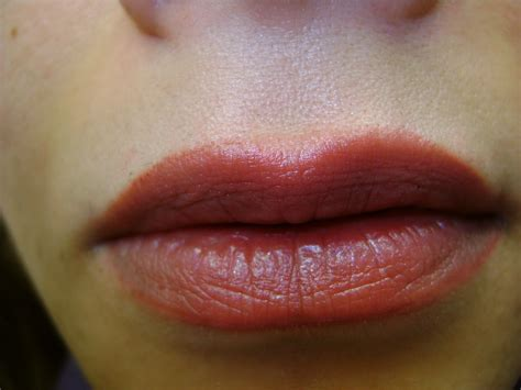 tattoo lip liner before and after permanent lip liner before and after