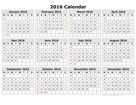 Calendar 2018 By Week Number 2016 Calendar With Week Numbers Calendar 2017 2018