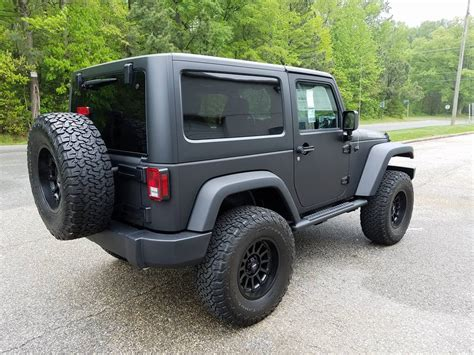 matte black jeep 2017 matte black jeep color change hawkeye graphics