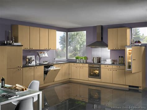 Kitchen Color Ideas With Light Wood Cabinets Pictures Of Kitchens Modern Light Wood Kitchen Cabinets Kitchen 12