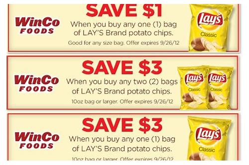 sun chip coupons 2018