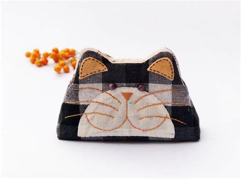 Ziper Cat cat purse cat zipper purse cat coin purse