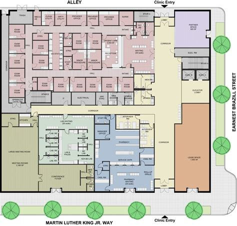 medical center floor plan health care plans bing images