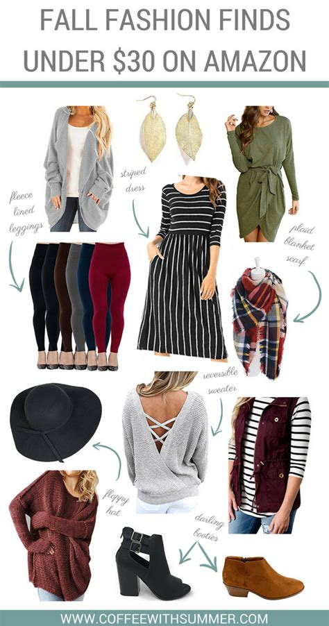 Top 10 Fall Fashion Finds by Fall Fashion Finds 30 On Coffee With Summer