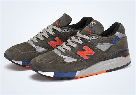 Sandal Monna Vania 998 8 Z new balance 998 olive orange blue sneakernews