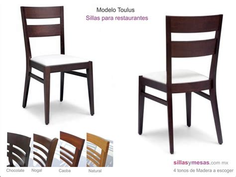 sillas toulus sillas de madera  restaurantesjpg  muebles pinterest dining