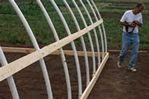 Baseboard Sizes Constructing A Simple Pvc High Tunnel Hightunnels Org