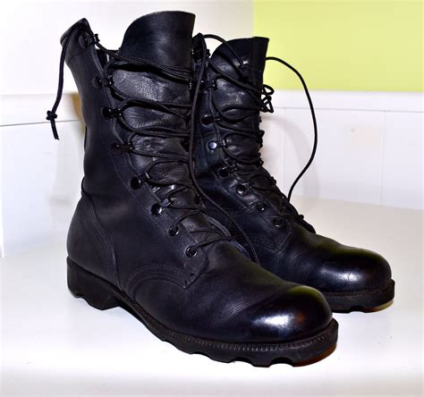 black leather combat boots for black leather combat boots perfectly distressed