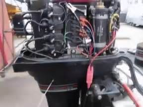 boat battery smoking mercury outboard starting and running after stator