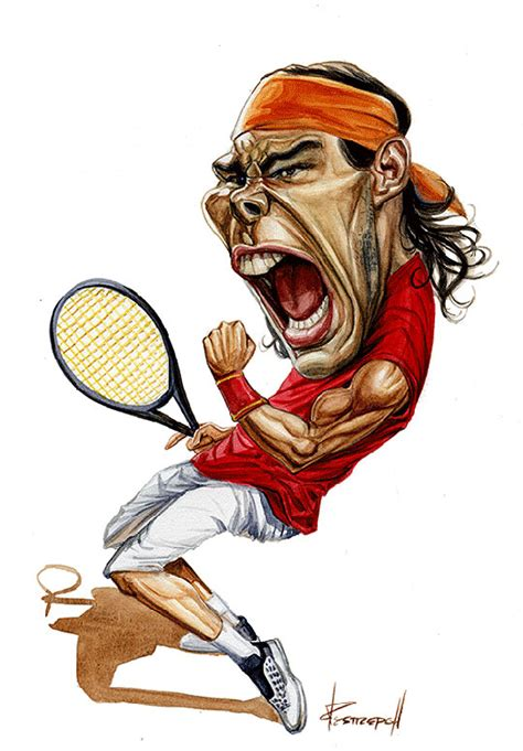 Caricature Drawers by Famosos En Caricatura More Rafael Nadal Caricatures And