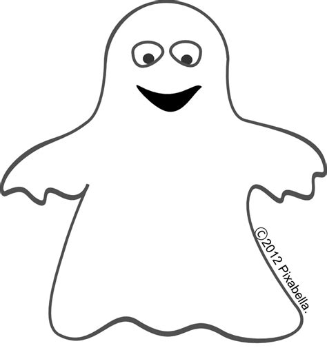 ghost templates printable ghost faces cliparts co