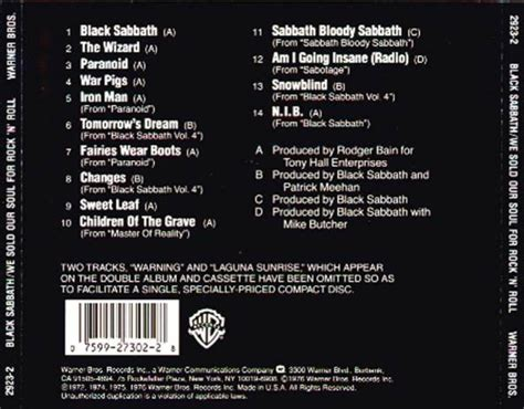All That We Is Our Soul scarica la copertina cd black sabbath we sold our soul
