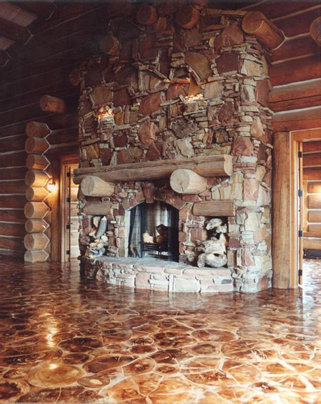 log end flooring natural building blog