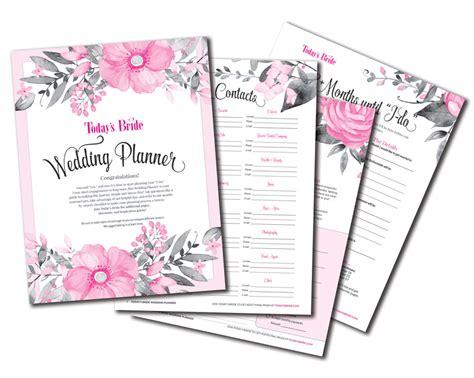 todays bride printables todays bride