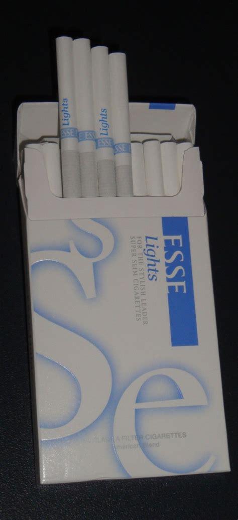 Carton Of Marlboro Lights by Korea Blue Light Esse Cigarettes