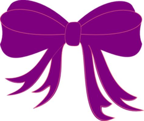 Md Ribbon purple ribbon md free images at clker vector clip
