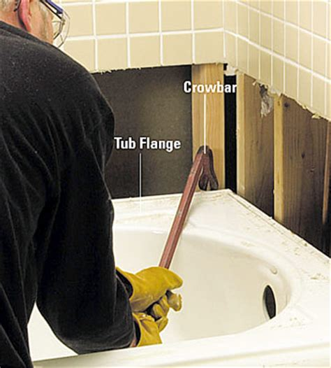 what type of caulk to use around bathtub removing a bathtub how to remove a bath tub diy plumbing diy advice