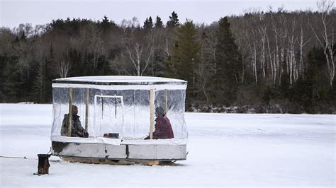 ice fish house designs diy ice fishing house plans