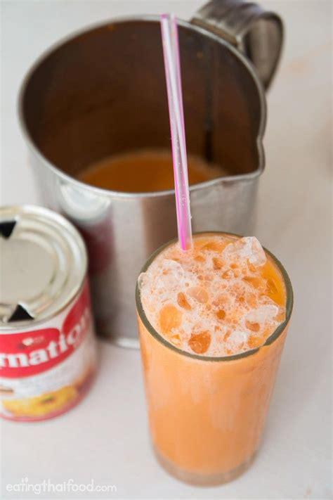membuat thai ice tea thai iced tea recipe ชาเย น authentic street food