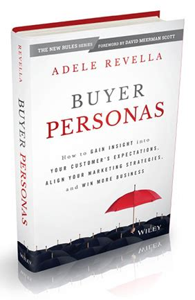Book Buyer by 5 Buyer Persona Insights For Content Marketing Adele Revella