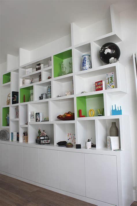 Modern Built In Bookcases wardrobe company floating shelves boockcase cupboards fitted furniture custom made to