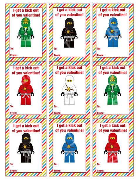 ninjago s day cards s day cards