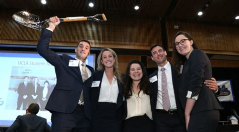 Pfeiffer Mba Curriculum by Ucla Mbas Place In Competitions