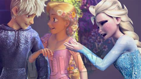 Elsa and Jack Frost Wallpapers (79  images)