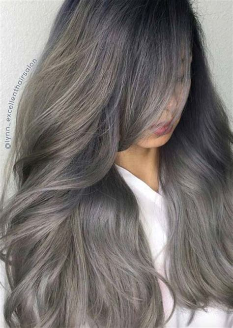 color grey hair silver hair trend 51 cool grey hair colors tips for