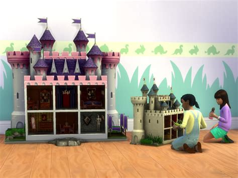 dollhouse and castle mod the sims small modern castle dollhouses