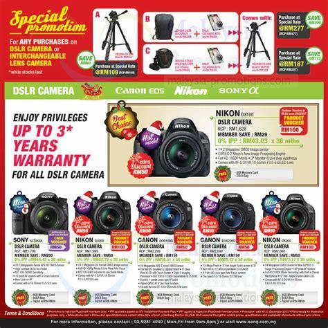 dslr offers dslr digital cameras nikon sony canon 187 senq notebooks
