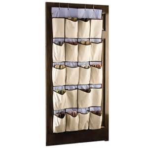 Hanging Shoe Storage by Rubbermaid Hanging Canvas 20 Pocket Shoe Organizer