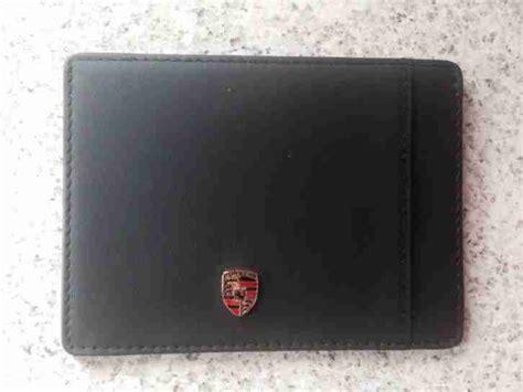 Porsche Kreditkarte by Porsche Kreditkarten Etui Porsche Cars Tolle Angebote