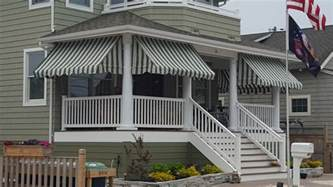 Awnings Canvas by Front Porch Awnings Canopies Globe Canvas