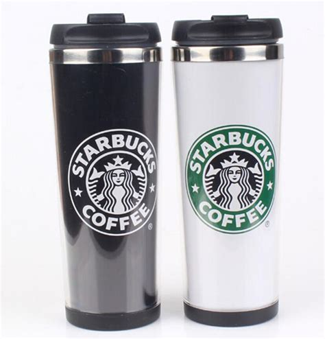 Starbucks Termos Kopi Botol Termos Vakum Stainless Steel Cangkir Iso starbucks wall stainless steel mug cups
