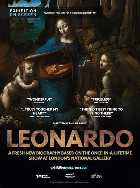 leonardo da vinci biography poster towngate cinema returns june 16 18 quot la la land quot da